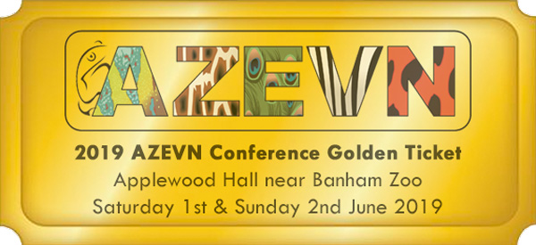 AZEVN Conference Golden Tickets - The Association of Zoo